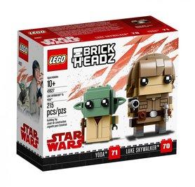 LEGO® BrickHeadz Luke Skywalker™ i Yoda™