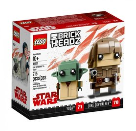 LEGO® BrickHeadz Luke Skywalker™ i Yoda™