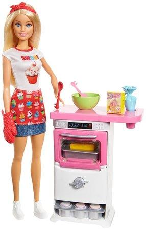 Barbie lalka Domowe Wypieki, zestaw (1)