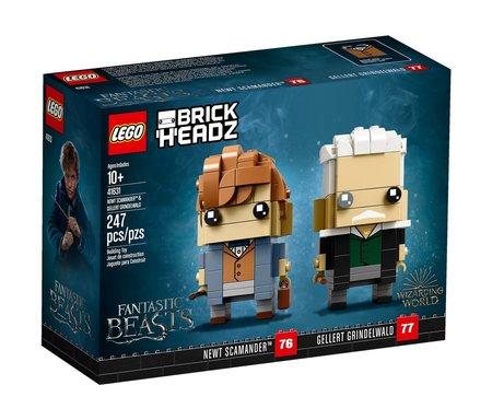 LEGO BRICKHEADZ Newt Scamander (1)