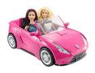 Barbie, samochód Cabriolet, różowy  (1)