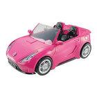 Barbie, samochód Cabriolet, różowy  (2)